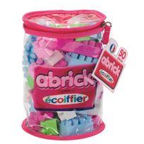 ECOIFFIER - Sac tube Abrick 50 pièces rose - 485
