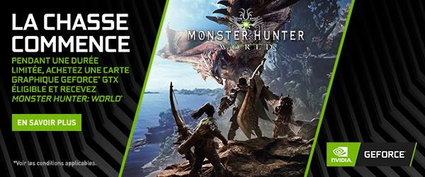 Rue Du Commerce - Opération NVIDIA - Monster Hunter World offert