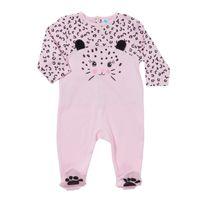 TEX BABY - Pyjama bébé PRETTY JUNGLE FACE en coton