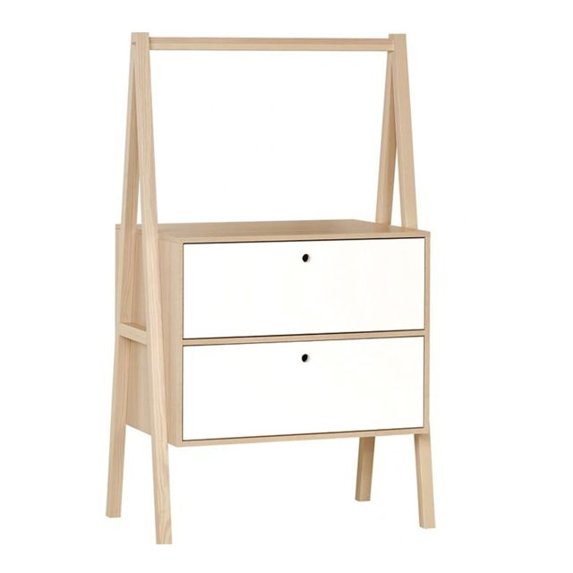 Vox Commode 2 tiroirs Spot - Blanc
