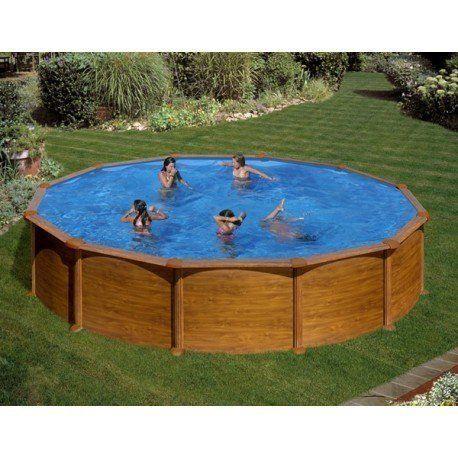 gre pools kit piscine hors sol acier ronde mauritius. Black Bedroom Furniture Sets. Home Design Ideas