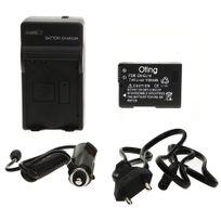 Oting - Set Chargeur de Batterie + Batterie type Nikon En-el14
