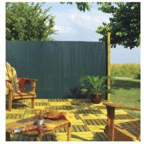 Intermas - Canisse Pvc simple face Vert 85% occultant 2x3 m Plasticane