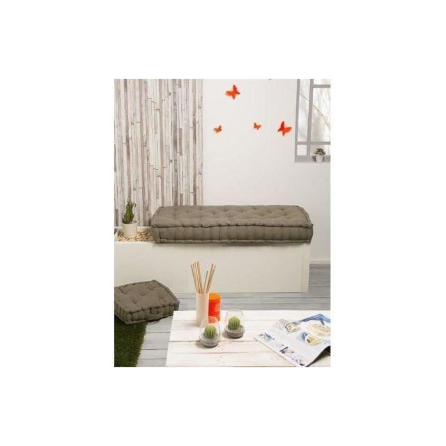 finlandek matelas de sol banquette j ms 100 coton beige 60x120x15 cm pas cher achat. Black Bedroom Furniture Sets. Home Design Ideas