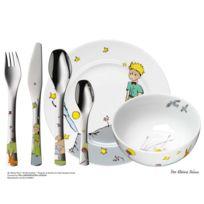 Wmf - Coffret vaisselle pour enfants 6 pièces en porcelaine et inox Le Petit Prince