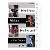 Zalys Distribution - Edvard Munch - Privilège - Evening Land - Le libre Penseur - Coffret - Dvd Zone 2