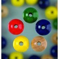 Efco - Lot De 150 Perles En Bois De Diam. 4 Mm