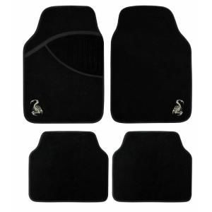 peraline tapis de sol pour voiture avec logo scorpion dor universel pas cher achat vente. Black Bedroom Furniture Sets. Home Design Ideas