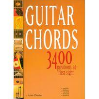 Carisch - Méthodes Et Pédagogie Chester Alan - Guitar Chords 3400 Positions - Guitare Guitare Acoustique