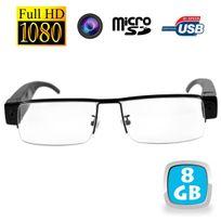 Go 1080p Usb Espion Lunettes De Vue Mini 8 Full Caméra Micro Sd Hd ZlOXuPTwki