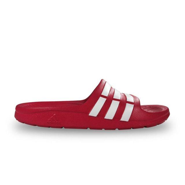 0162cf9961c Adidas - Claquettes enfant duramo roses - pas cher Achat   Vente Sandales  et tongs homme - RueDuCommerce