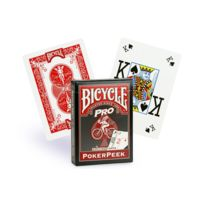 Bicycle - Cartes Pro Poker Peaks, Rouge