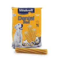 Vitakraft - Bâtonnets à mâcher Dental 2 en 1 Petits Chiens Sachet 120 g