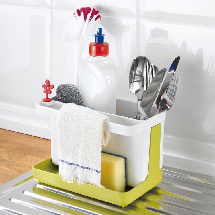 Rangement vaisselle en plastique blanc / vert Park It