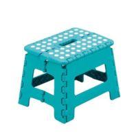 Zeller - 99164 Tabouret pliant Color en plastique 32 x 25 x 22 cm Turquoise