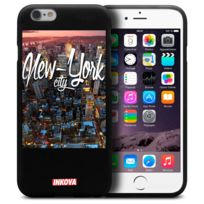 Inkova - Coque Housse Pour iPhone 6 / 6s 4.7 Semi Rigide Gel Tpu Souple Extra Fine Street Design - City New York