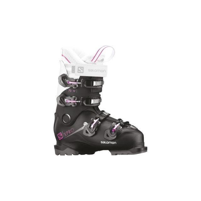 Chaussures Pas Wh W De Pink Pro Cher X Salomon 70 Bk Ski NOX80Pknw