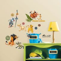 Toy Zany - Stickers Disney Le Roi Lion Roommates Repositionnables 48 stickers