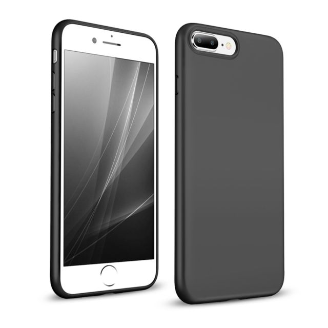coque iphone 8 plus fine noir