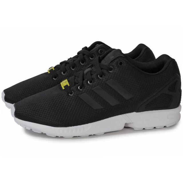 adidas zx flux noir argent homme
