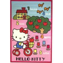 Jemini - Tapis Hello Kitty rose Jardin