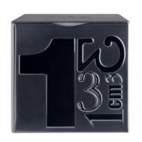 Mbm - Boite en métal thé 100 grammes - noir