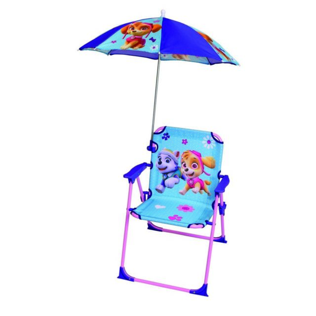 Chaise parasol Fun House Pat'Patrouille fille