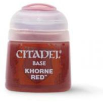 Games Workshop - Citadel Pot de Peinture - Base Khorne Red