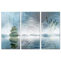 No Name - Tableau triptyque deco zen relaxation - Boutique en ligne Declina