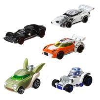 Hot Wheels - Voitures Star Wars : Coffret 5 véhicules