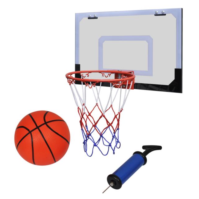 Rocambolesk   Superbe Mini Panier Basket Ball Avec Ballon Et Pompe Neuf