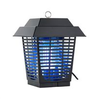 DURAMAXX - Ex Lantern Destructeur d'insectes lampe UVA lumière bleue 20W