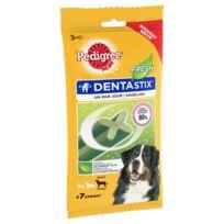 Pedigree - Friandises Dentastix Fresh pour Chien de Grande Taille - x7