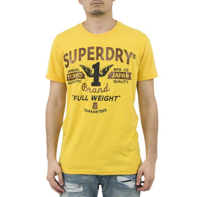 Fila Tee Shirt 681244 Day Jaune H XL