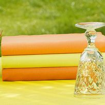 Winkler - Serviette De Table Soraya Orange 45 X 45