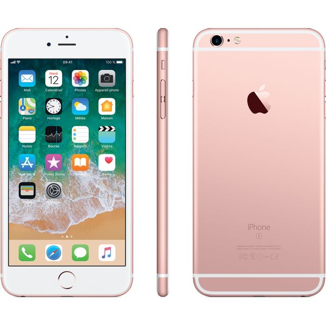 APPLE iPhone 6S Plus - 128 Go - MKUG2ZD/A - Or Rose