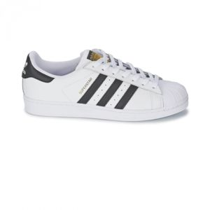 adidas - baskets superstar originals blanc noir