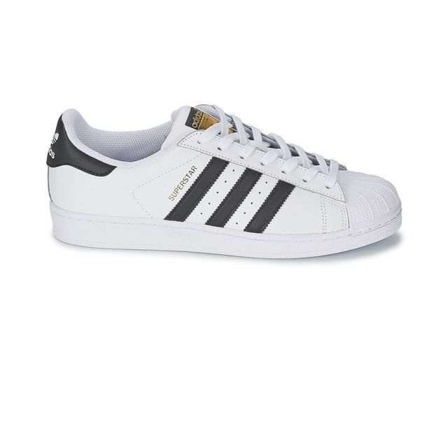 Adidas originals - Chaussures Superstar Blanc/Noir