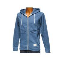 BLEND - Vestes sweats zippés capuche Riom ensign blue fzcap sw Bleu 51459