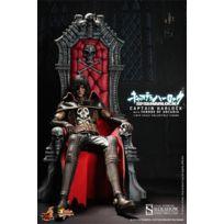 Hot Toys - Figurine - Captain Harlock figurine Movie Masterpiece 1/6 Captain Harlock avec tr