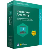 KASPERSKY - Anti-Virus 2018 1 Poste 1 An