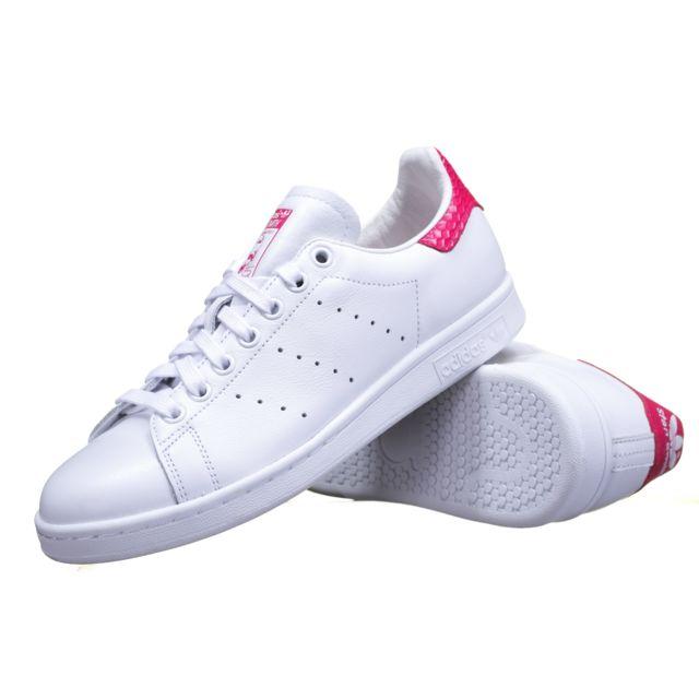 new style 79c95 33b6f Adidas originals - Chaussure Adidas Stan Smith S75080 BlancRose