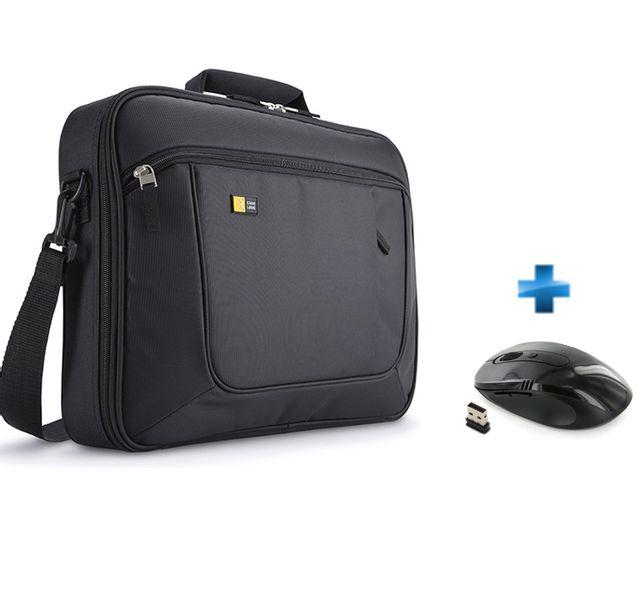 d02ae801af CASE LOGIC - Pack Sacoche pour ordinateur portable 17,3'' et iPad ANC317