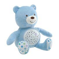Chicco - Ourson Projecteur Baby Bear Bleu