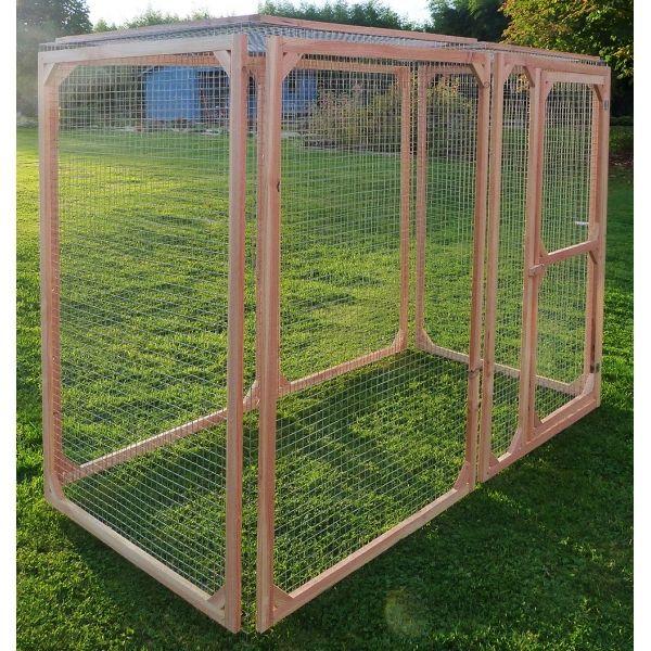 les animaux de la fee parc pour poules 100x100x175 lxlxh cm made in france pas cher achat. Black Bedroom Furniture Sets. Home Design Ideas