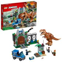 Lego - Juniors Jurassic World™ - L'évasion du tyrannosaure - 10758