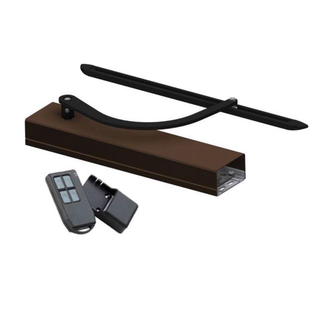 mantion smt motorisation volet 1 battant wineo radio baie de 400 800 mm carter brun bras. Black Bedroom Furniture Sets. Home Design Ideas
