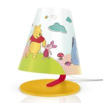 Philips - Disney - Lampe de chevet Led Winnie l'Ourson H24cm - Luminaire enfants designé par