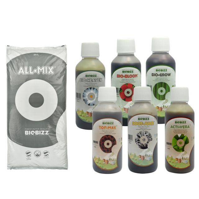 Biobizz Pack All.Mix 20 litres + engrais et booster