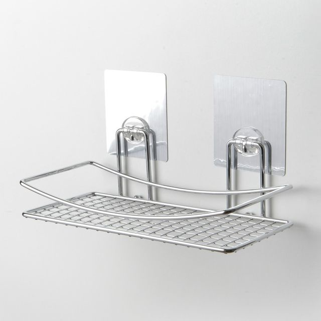 Compactor Bath Etagère De Salle De Bain En Acier Chromé Fixation